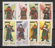 Vietnam - 1996 - N°Yv. 1605 à 1612 - Statues - Neuf Luxe ** / MNH / Postfrisch - Vietnam
