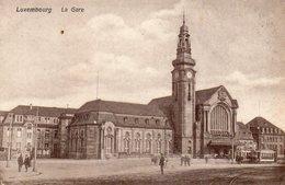 LUXEMBOURG - La Gare - Ansichtskarten
