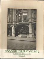 Leuven - Originele Foto Op Karton Gekleefd 17 X 12 Cm - Winkel Auguste Gilbert-Godts - Leuven