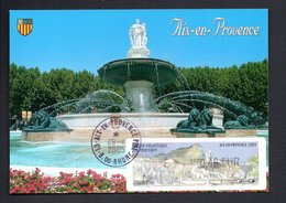 1 -CARTE MAXIMUM -- SALON Philathelique  AIX EN PROVENCE   2005    LISA 0,48 - Maximum Cards