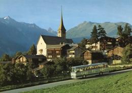 Omnibusse Setra Der Furka-Oberalp-Bahn,Fiesch-Ernen-Brunn, Ungelaufen - Buses & Coaches