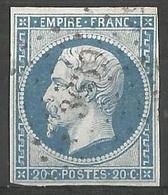FRANCE - Oblitération Petits Chiffres LP 3639 VILLEVALLIER (Yonne) - 1849-1876: Période Classique