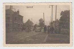 Havay  Quévy    CARTE PHOTO De La Douane (Signé Par Bourgmestre Henrotte Et Adressé à Georges Griffon) - Quévy