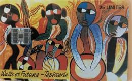 """WALLIS-et-FUTUNA - Tapisserie """" Piloko """" - Wallis And Futuna"""