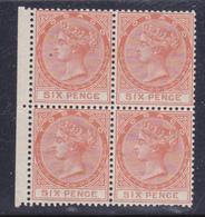Tobago  1879 Regina Vittoria Gibbons N° 3   6d .MNH-MLH**/* - Trindad & Tobago (...-1961)