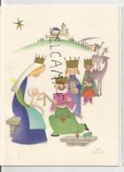 Adoration Des Mages. Dessin De J&S Boland - Kerstmis