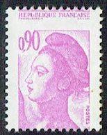 FRANCE - N°2242 - 0,90 Liberté De DELACROIX - PIQUAGE à CHEVAL - Luxe. - Variétés: 1980-89 Neufs