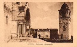 CP Italie Marche Ancona Cattedrale E Campanile - Ancona