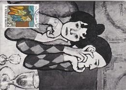 Carte Maximum Peinture 1973 Picasso Maldives - Malediven (1965-...)