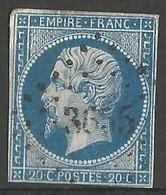 FRANCE - Oblitération Petits Chiffres LP 3655 VIROFLAY (Yvelines) - Marcophilie (Timbres Détachés)