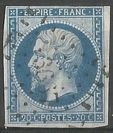 FRANCE - Oblitération Petits Chiffres LP 3667 VIVONNE (Vienne) - Marcophilie (Timbres Détachés)