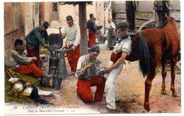 CPA. -   Armée Française Cavalerie , Chez Le Maréchal Ferrand  -- écrite - Guerre 1914-18