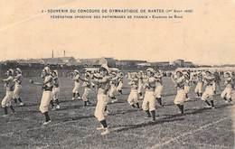 Thème: Sport  Boxe       Concours De Nantes 1909  Exercice De Boxe        (voir Scan) - Boxing