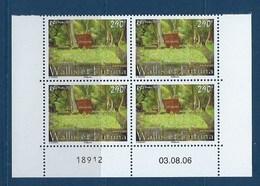 """Wallis Coins Datés YT 665 """" Sépulture """" Neuf** Du 03.08.2006 - Wallis En Futuna"""