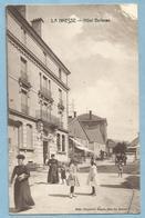 TH0382   CPA   LA BRESSE  (Vosges)  Hôtel Bellevue - Animation  +++++++ - Autres Communes