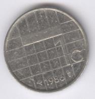 NEDERLAND 1986: 1 Gulden, KM 205 - [ 3] 1815-… : Kingdom Of The Netherlands