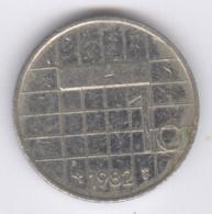 NEDERLAND 1982: 1 Gulden, KM 205 - [ 3] 1815-… : Kingdom Of The Netherlands