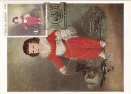 Carte Maximum Peinture Paraguay 1969 Goya - Paraguay