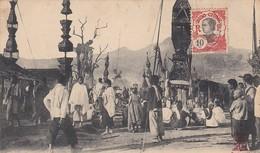 LAOS Une Procession Bouddhique Aux Hua Pahu - Laos