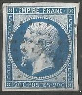FRANCE - Oblitération Petits Chiffres LP 3699 YERVILLE (Seine-Maritime) - 1849-1876: Période Classique