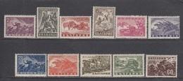 "Bulgaria 1946 - Serie ""Guerre Et Patrie"", YT 478/88, Neufs** - Unused Stamps"