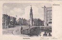 Amsterdam Sophiaplein Doelensluis # 1902    935 - Amsterdam