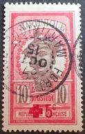 DF50500/502 - 1915 - CROIX ROUGE - COLONIES FR. - MARTINIQUE - N°82 ☉ CàD : MARTINIQUE / FORT De FRANCE 27 OCT 1915 - Martinique (1886-1947)