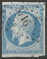 FRANCE - Oblitération Petits Chiffres LP 3716 BONE (Constantine-Algérie) - 1849-1876: Période Classique
