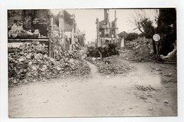 - CPA LISIEUX (14) - Bombardement Juin 1944 - Photo Rue Au Char - Eglise Saint-Jacques - - Lisieux
