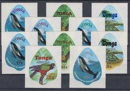 Tonga 1978 Tiere Mi.-Nr. 691-700 Kpl. Satz 10 Werte ** - Tonga (1970-...)