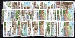 Monaco YT N° 986/991 X 12 Séries Neufs ** MNH. TB. A Saisir! - Monaco