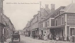 ISIGNY SUR MER  Rue Emile Demagny Hotel Richardot - France