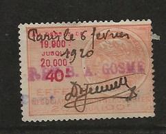 FISCAUX EFFET N°439  40F ORANGE TYPE TASSET 1918 - Revenue Stamps