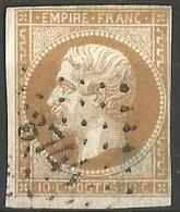 FRANCE - Oblitération Petits Chiffres LP 3744 GRADIGNAN (Gironde) - 1849-1876: Période Classique
