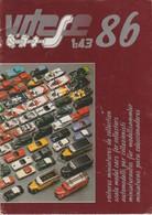 Catalogue Vitesse 1986 Véhicules Miniatures ; Voitures : Lancia ; Porche ; Cadillac ; Jaguar ; Camions : Saurer - Scale Models