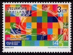 Thailand - 2019 - World Post Day - 145 Years Of UPU - Mint Stamp - Thaïlande