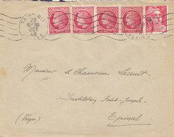 Gandon 721 + Cérés 676 X 4 Sur Lettre De 1948 - Marcophilie (Lettres)