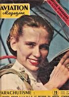 Rare Revue Aviation Magazine Odette Rousseau N°148 1 Septembre 1955 - Aviation