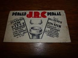 Buvard Cyclisme Pédale Pedaal JRC (non Utilisé Mais Souillé) - Buvards, Protège-cahiers Illustrés