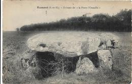 """77 . Seine Et Marne .  Rumont : Dolmen Dit """" La Pierre  L ' Ormsille """" . - Autres Communes"""