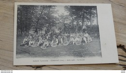 CONFORT : Colonie Lyonnaise : Aout 1908, Le Gouter …... … ND-3626 - France
