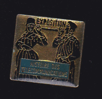60582-Pin's.musée.histoire Des Telecommunications... - Telecom De Francia