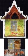 Thailand - 2019 - Thai Heritage Conservation - Mint Stamp Set + Souvenir Sheet - Thaïlande