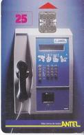 Nº 2 TARJETA DE URUGUAY DE ANTEL DE UN TELEFONO - Uruguay