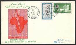 Maroc-Enveloppe Avec Cachet Casablanca Philatélie - Marokko (1956-...)