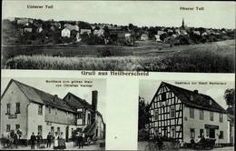 Cp Heilberscheid Rheinland Pfalz, Gasthaus Zum Grünen Wald, Inh. Weimer, Gasthaus Z. Stadt Montabaur - Allemagne