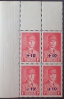 R1615/1405 - 1941 - TYPE PETAIN - BLOC N°494 TIMBRES NEUFS** CdF - Frankreich