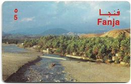 Oman - AlphaCard Remote Mem. - Fanja - 5Rial, Used - Oman