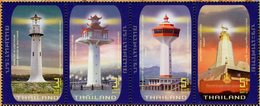 Thailand - 2019 - Historic Lighthouses - Mint Stamp Set - Thaïlande