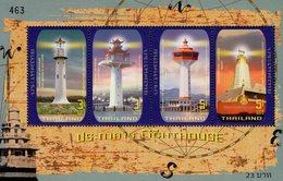 Thailand - 2019 - Historic Lighthouses - Mint Souvenir Sheet - Thaïlande